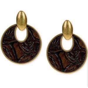 LAST ONE Patricia nash barkleaves earrings…